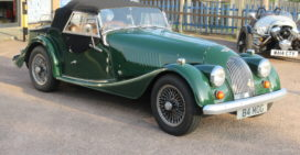 1985 Morgan 4/4 4 Seater with Simmonds Dickie Coupe Conversion. Reduced Price.